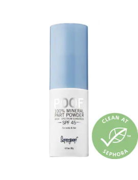 Poof 100% Mineral Part And Scalp Powder Spf 45 by Supergoop!