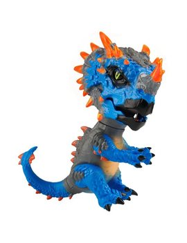 Untamed® Radioactive Dinos Series Collectible Triceratop by Fingerlings