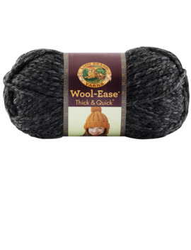 Lion Brand® Wool Ease® Thick & Quick® Yarn, Solids by Lion Brand