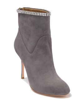 Victoria Embellished Suede Boot by Badgley Mischka