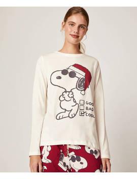Pack Pigiama Lungo Snoopy © by Oysho