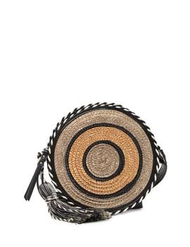 Straw Circle Crossbody Bag by Rebecca Minkoff