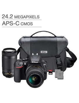Nikon D3500 Dslr Camera 2 Lens Bundle by Nikon