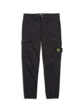 Boy's Cargo Pants by Stone Island