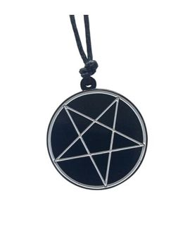 Pentagram Necklace Unholy Satan Santanic Satanist Gothic Witch Pentacle Lucifer by Ebay Seller