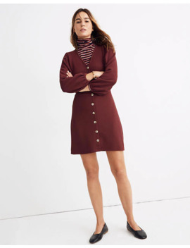 Texture & Thread Crepe Balloon Sleeve Dress by Madewell