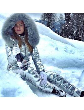 New Snow Ski Suits Women One Piece Ski Jumpsuit Breathable Snowboard Jacket Skiing Pant Sets Bodysuits Russia by Ali Express.Com