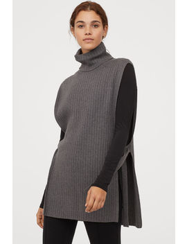 Knit Cashmere Blend Tunic by H&M