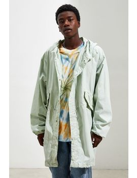 Urban Renewal Vintage Overdyed Nylon Fishtail Parka Jackets by Urban Renewal