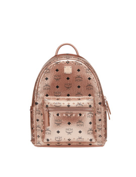 Stark Backpack In Studded Outline Visetos by Mcm