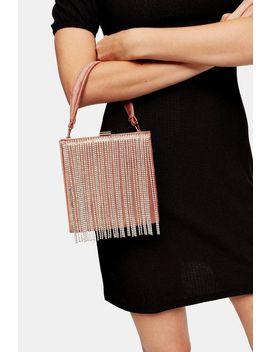 Gatsby Boxy Diamante Bag by Topshop