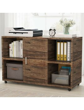 Griego Mobile Lateral Filing Cabinet by Latitude Run