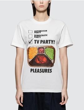 Tv Part T Shirt by Pleasures
