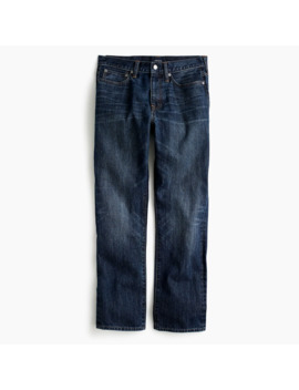 1040 Athletic Fit Jean In Dark Wash Japanese Denim by J.Crew
