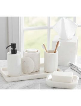 Frost Marble Accessories by Pottery Barn