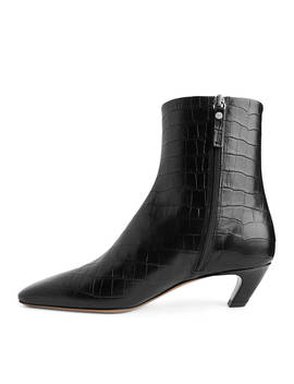 Square Toe Ankle Boots by Arket