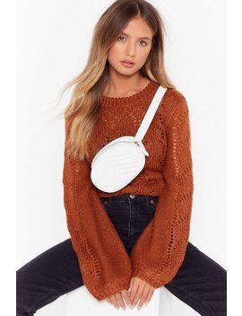 Want Don't Quilt Faux Leather Fanny Pack by Nasty Gal