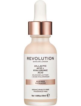 Online Only Revolution Skin Mild Skin Exfoliator   5% Lactic Acid + Hyaluronic Acid by Revolution Skincare