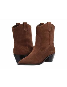 Calf Suede Western Tanner Boot by J.Crew