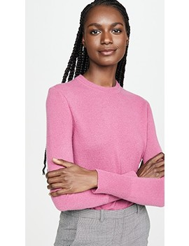 Sanni Crew Neck Cashmere Sweater by Equipment