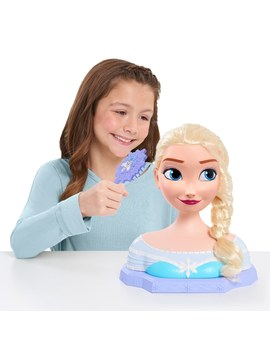 Disney Frozen Deluxe Elsa Styling Head by Smyths