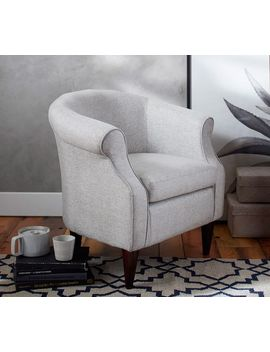 So Ma Lyndon Upholstered Armchair by Pottery Barn