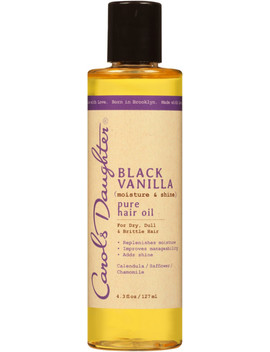 Online Only Black Vanilla Pure Hair Oil by Carol's Daughter