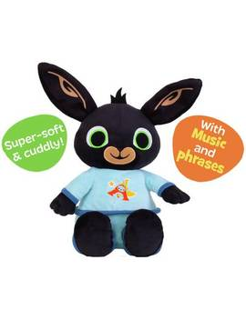 Bedtime Bing With Music And Phrases Soft Toy934/6662 by Argos