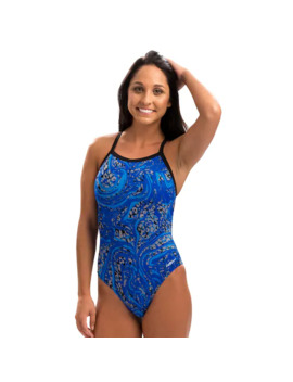 Women's Dolfin V 2 Back One Piece Swimsuit by Dolfin