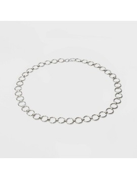 Women's Silver Chain Belt   Wild Fable™ Silver by Wild Fable