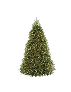 10 Ft. Dunhill Fir Artificial Christmas Tree With 1200 Clear Lights by Home Accents Holiday