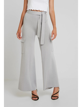 Belted Side Pocket Wide Leg Trousers   Broek by Missguided