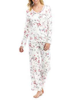 2 Piece Long Sleeve Pajama Set by Karen Neuburger