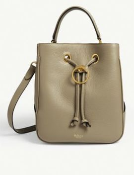 Hampstead Medium Leather Bucket Bag by Mulberry