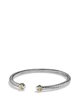 Cable Classics Bracelet With 18 K Gold, 4mm by David Yurman