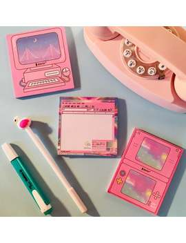 Retro Computer Notepads, Cute Cool Unique Memo Pad For School Notes Or Bullet Journal by Etsy