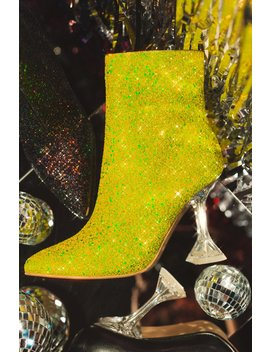 In These Streets   Yellow Glitter by Miss Lola