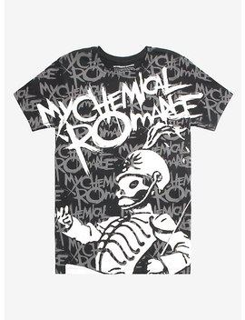 My Chemical Romance The Black Parade Belt Print T Shirt by Hot Topic