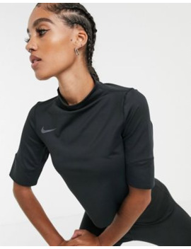 Nike Running Future Air Crop Top In Black by Nike
