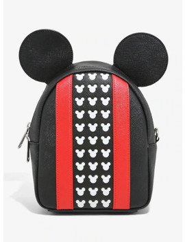 Loungefly Mickey Mouse Icon Mini Backpack by Hot Topic
