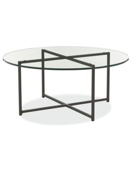 Classic Coffee Tables In Natural Steel by Room And Board