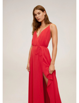 Lace Long Dress by Mango