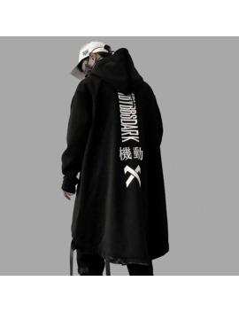 Us Size Sweatshirts Men Harajuku Streetwear Long Hoodies Autumn 2019 Fashion Casual Hip Hop Male Jacket Oversize Cotton Dg24 by Ali Express.Com