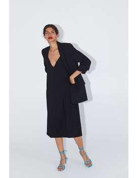Blazer With Rolled Up Sleeves Black Blazers Blazers Woman by Zara