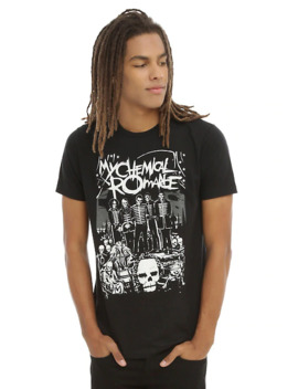 My Chemical Romance The Black Parade Lineup T Shirt by Hot Topic