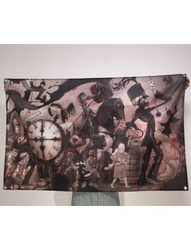 My Chemical Romance Banner The Black Parade Tapestry Logo Flag Art Poster 3x5 Ft by Ebay Seller