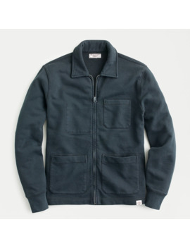 Wallace & Barnes French Terry Shirt Jacket by J.Crew