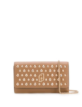 Stud Embellished Clutch Bag by Liu Jo