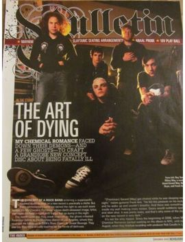 My Chemical Romance, Full Page Clipping by Ebay Seller