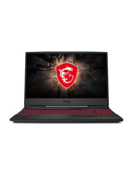 "Msi Gl65 9 Sc 002 15.6"" Gaming Laptop, Intel Core I5 9300 H, Nvidia Ge Force Gtx 1650, 8 Gb, 512 Gb Nv Me Ssd by Msi"